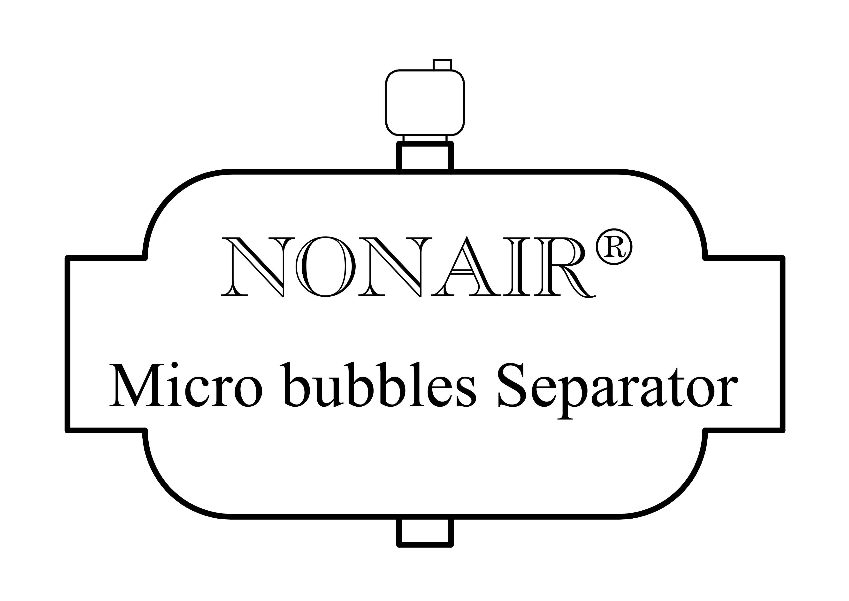 Nonair micro bubbles Separator